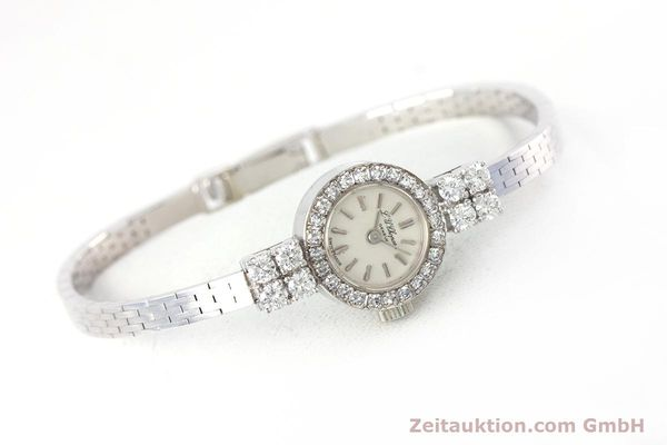 Used luxury watch Chopard * 18 ct white gold manual winding Kal. Felsa 4520 Ref. G2455  | 153450 03