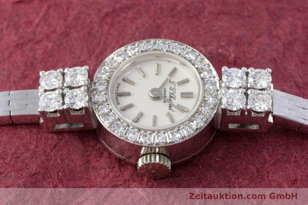 Used luxury watch Chopard * 18 ct white gold manual winding Kal. Felsa 4520 Ref. G2455  | 153450 05