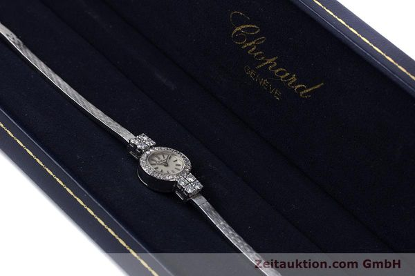 Used luxury watch Chopard * 18 ct white gold manual winding Kal. Felsa 4520 Ref. G2455  | 153450 07