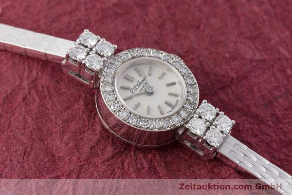 Used luxury watch Chopard * 18 ct white gold manual winding Kal. Felsa 4520 Ref. G2455  | 153450 16