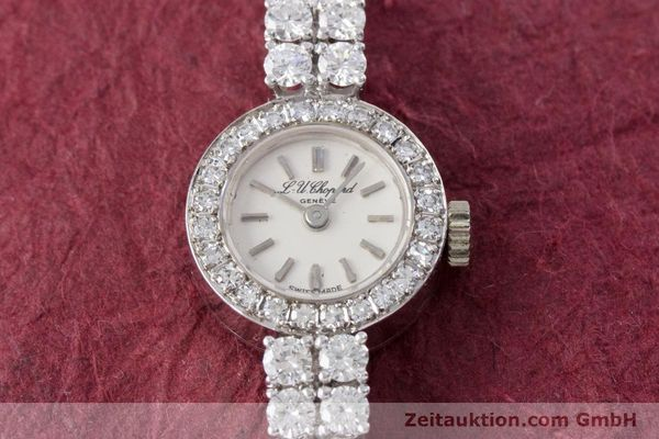 Used luxury watch Chopard * 18 ct white gold manual winding Kal. Felsa 4520 Ref. G2455  | 153450 17