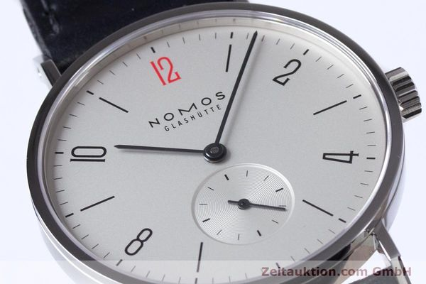 Used luxury watch Nomos Tangente steel manual winding Kal. Alpha  | 153452 02