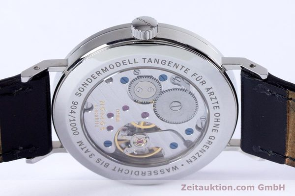 Used luxury watch Nomos Tangente steel manual winding Kal. Alpha  | 153452 10