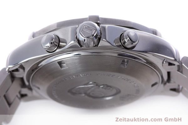 Used luxury watch Tag Heuer Aquaracer chronograph steel automatic Kal. 16 ETA 7750 Ref. CAF2112  | 153470 08