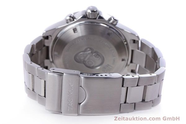 Used luxury watch Tag Heuer Aquaracer chronograph steel automatic Kal. 16 ETA 7750 Ref. CAF2112  | 153470 11