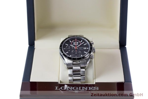 Used luxury watch Longines Grande Vitesse chronograph steel automatic Kal. L667.2 ETA 7750 Ref. L3.636.4  | 153489 07
