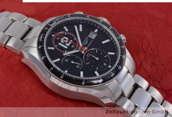 Used luxury watch Longines Grande Vitesse chronograph steel automatic Kal. L667.2 ETA 7750 Ref. L3.636.4  | 153489 16