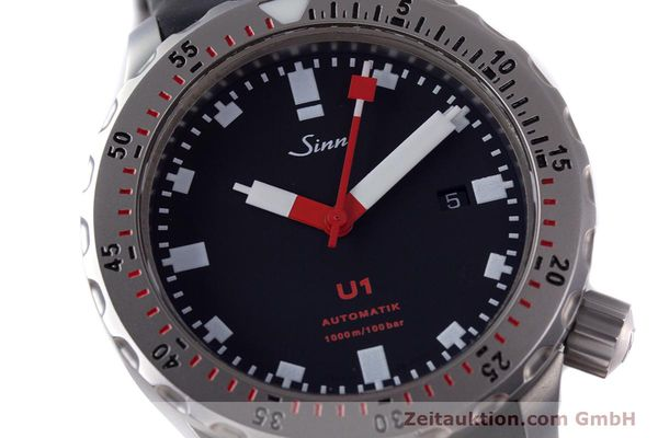 Used luxury watch Sinn U1 steel automatic Kal. ETA 2824-2  | 153491 02