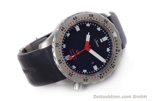 Used luxury watch Sinn U1 steel automatic Kal. ETA 2824-2  | 153491 03