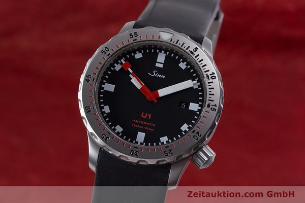 Used luxury watch Sinn U1 steel automatic Kal. ETA 2824-2  | 153491 04