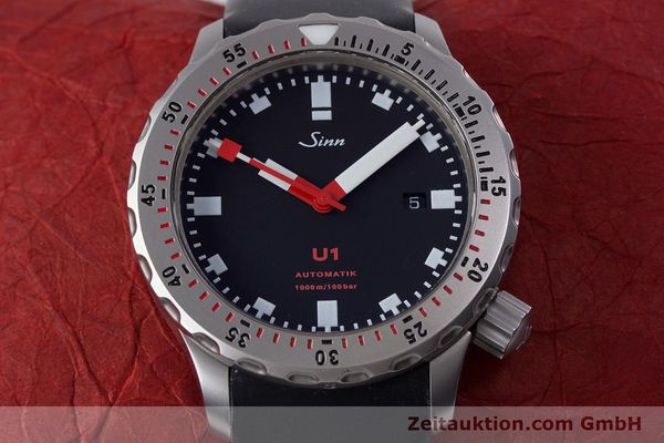 Used luxury watch Sinn U1 steel automatic Kal. ETA 2824-2  | 153491 16
