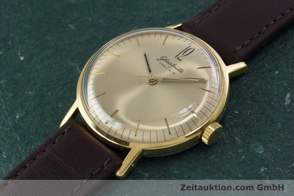 Used luxury watch Glashütte * gold-plated manual winding Kal. 70.1 VINTAGE  | 153497 01