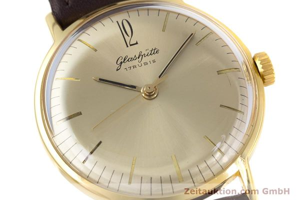 Used luxury watch Glashütte * gold-plated manual winding Kal. 70.1 VINTAGE  | 153497 02