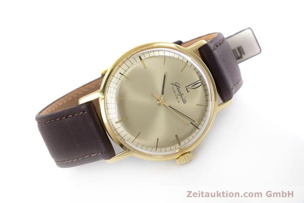 Used luxury watch Glashütte * gold-plated manual winding Kal. 70.1 VINTAGE  | 153497 03