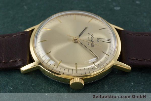 Used luxury watch Glashütte * gold-plated manual winding Kal. 70.1 VINTAGE  | 153497 05