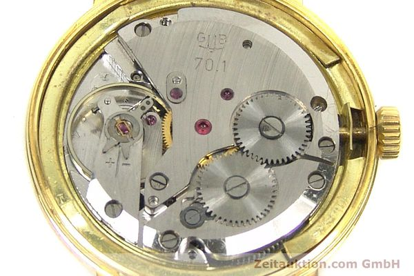 Used luxury watch Glashütte * gold-plated manual winding Kal. 70.1 VINTAGE  | 153497 10