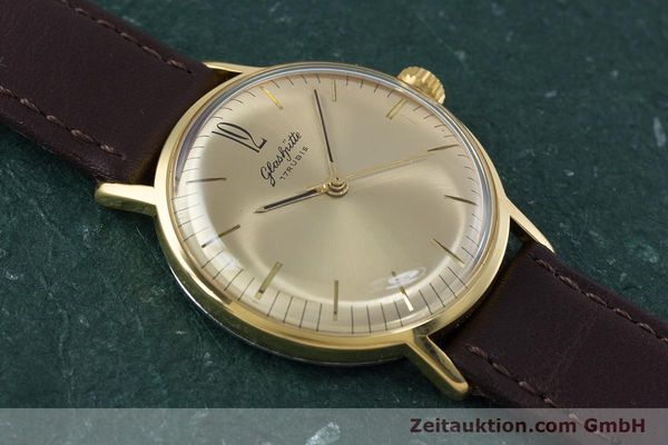 Used luxury watch Glashütte * gold-plated manual winding Kal. 70.1 VINTAGE  | 153497 12