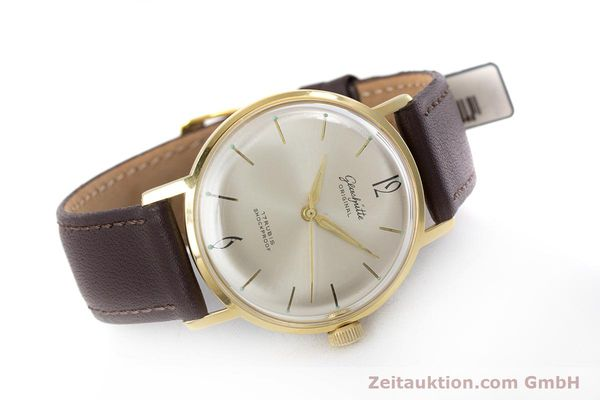 Used luxury watch Glashütte * gold-plated manual winding Kal. 70.1  | 153513 03