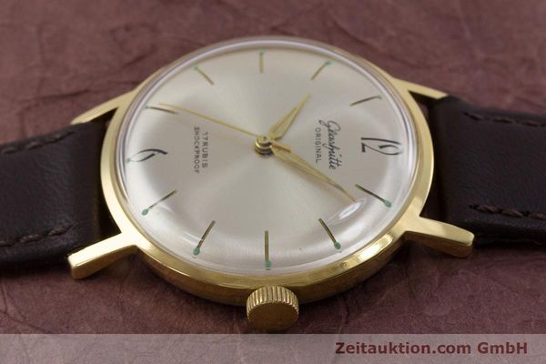 Used luxury watch Glashütte * gold-plated manual winding Kal. 70.1  | 153513 05