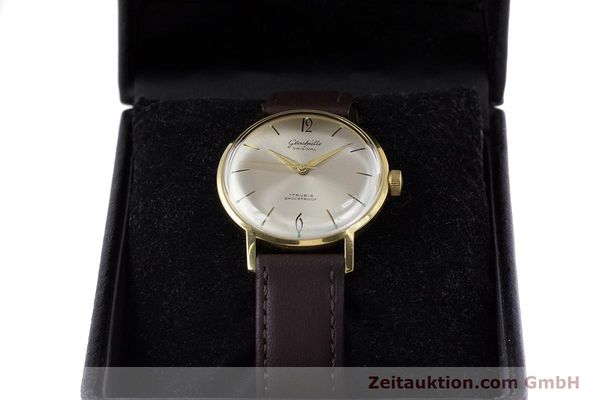 Used luxury watch Glashütte * gold-plated manual winding Kal. 70.1  | 153513 07