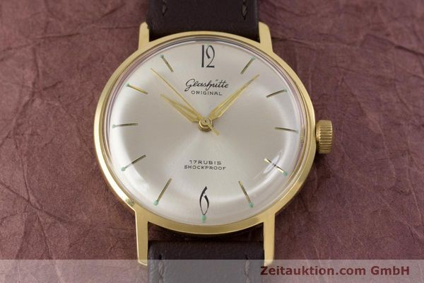 Used luxury watch Glashütte * gold-plated manual winding Kal. 70.1  | 153513 13