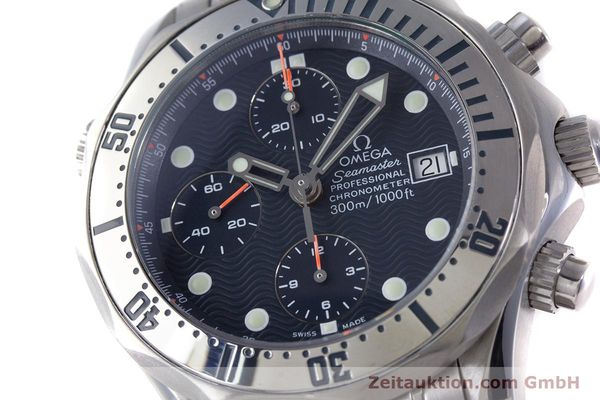 Used luxury watch Omega Seamaster chronograph steel automatic Kal. 1164 Ref. 25988000  | 153516 02