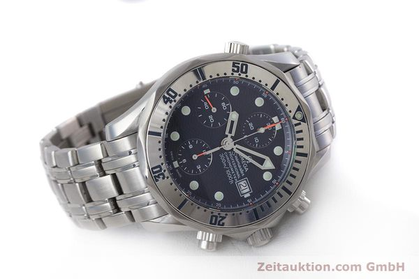 Used luxury watch Omega Seamaster chronograph steel automatic Kal. 1164 Ref. 25988000  | 153516 03