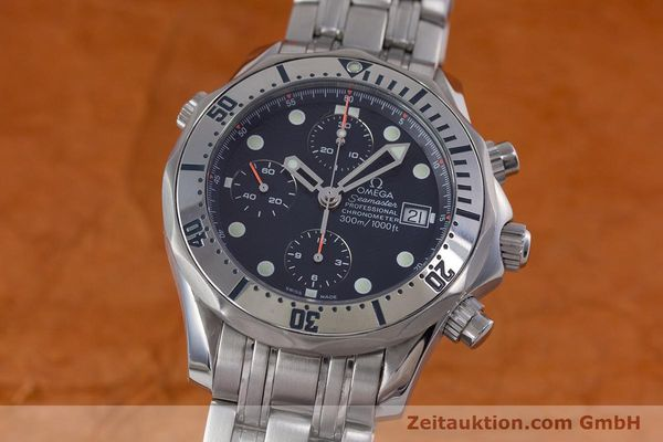 Used luxury watch Omega Seamaster chronograph steel automatic Kal. 1164 Ref. 25988000  | 153516 04