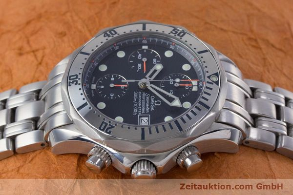 Used luxury watch Omega Seamaster chronograph steel automatic Kal. 1164 Ref. 25988000  | 153516 05