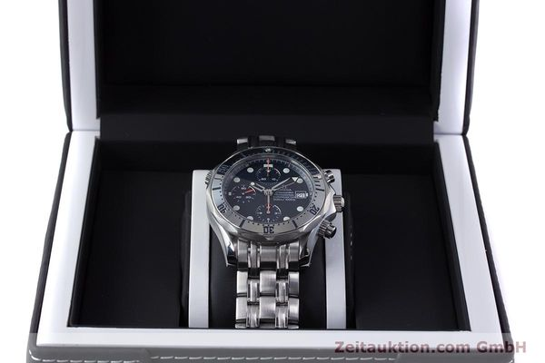 Used luxury watch Omega Seamaster chronograph steel automatic Kal. 1164 Ref. 25988000  | 153516 07