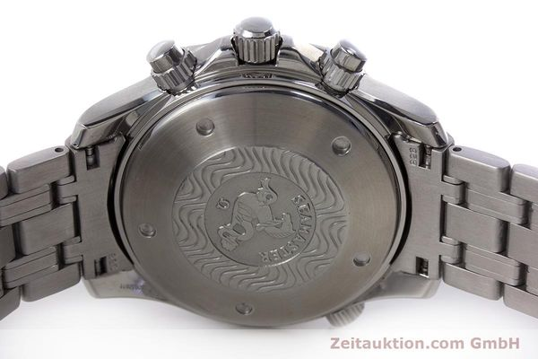Used luxury watch Omega Seamaster chronograph steel automatic Kal. 1164 Ref. 25988000  | 153516 09