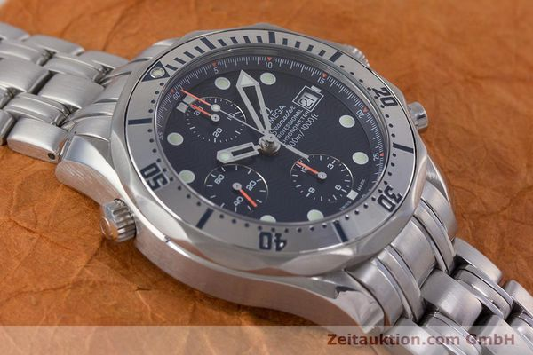 Used luxury watch Omega Seamaster chronograph steel automatic Kal. 1164 Ref. 25988000  | 153516 18