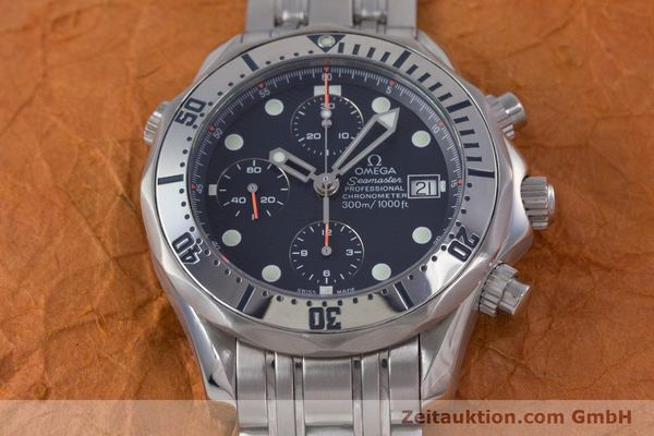 Used luxury watch Omega Seamaster chronograph steel automatic Kal. 1164 Ref. 25988000  | 153516 19