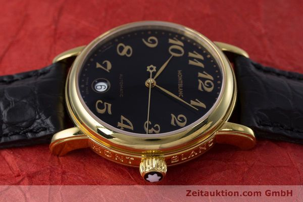 Used luxury watch Montblanc Meisterstück gold-plated automatic Kal. ETA 2892A2 Ref. 7004  | 153525 05