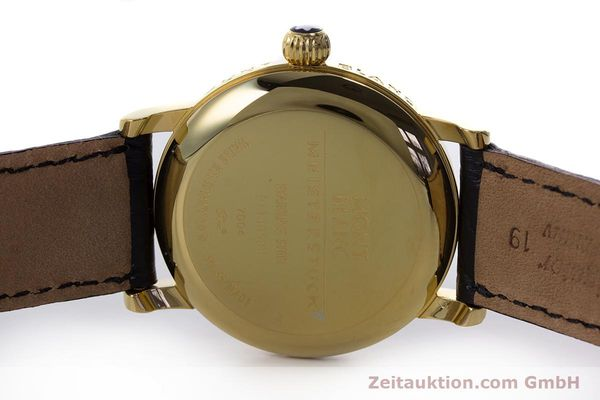 Used luxury watch Montblanc Meisterstück gold-plated automatic Kal. ETA 2892A2 Ref. 7004  | 153525 09