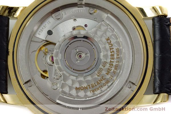 Used luxury watch Montblanc Meisterstück gold-plated automatic Kal. ETA 2892A2 Ref. 7004  | 153525 10