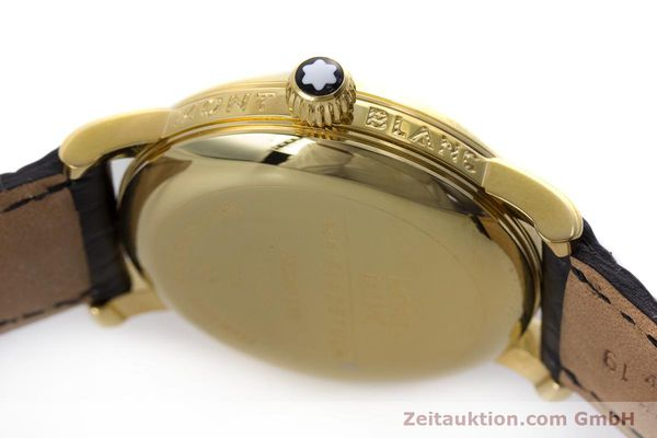 Used luxury watch Montblanc Meisterstück gold-plated automatic Kal. ETA 2892A2 Ref. 7004  | 153525 11