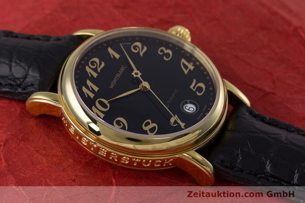 Used luxury watch Montblanc Meisterstück gold-plated automatic Kal. ETA 2892A2 Ref. 7004  | 153525 14