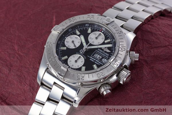 Used luxury watch Breitling Superocean Chronograph chronograph steel automatic Kal. B13 ETA 7750 Ref. A13340  | 153526 01