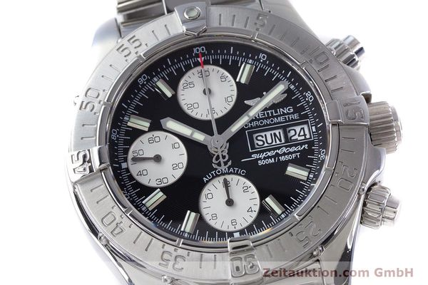 Used luxury watch Breitling Superocean Chronograph chronograph steel automatic Kal. B13 ETA 7750 Ref. A13340  | 153526 02