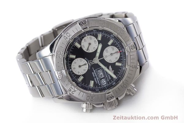 Used luxury watch Breitling Superocean Chronograph chronograph steel automatic Kal. B13 ETA 7750 Ref. A13340  | 153526 03