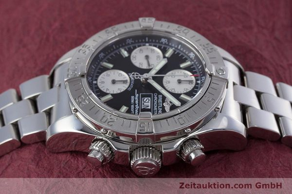 Used luxury watch Breitling Superocean Chronograph chronograph steel automatic Kal. B13 ETA 7750 Ref. A13340  | 153526 05