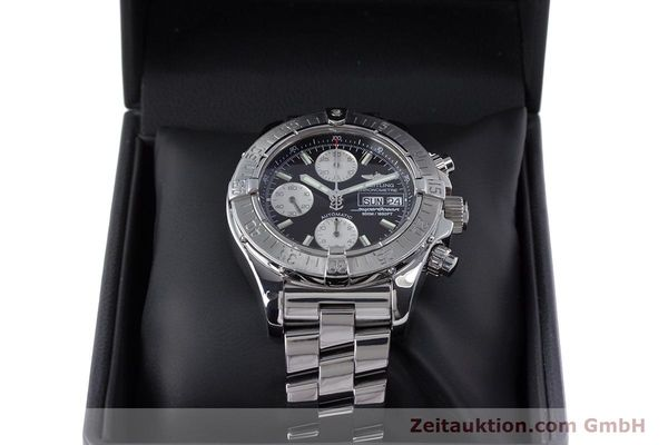 Used luxury watch Breitling Superocean Chronograph chronograph steel automatic Kal. B13 ETA 7750 Ref. A13340  | 153526 07