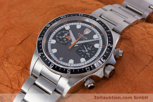 Used luxury watch Tudor Heritage Chronograph  chronograph steel automatic Kal. ETA 2892-A2 Ref. 70330/ 8270  | 153527 01