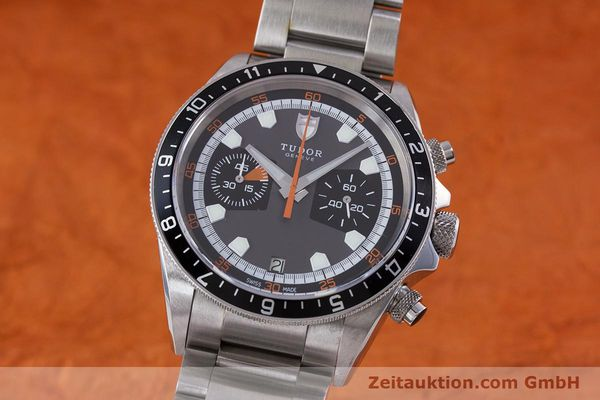 Used luxury watch Tudor Heritage Chronograph  chronograph steel automatic Kal. ETA 2892-A2 Ref. 70330/ 8270  | 153527 04