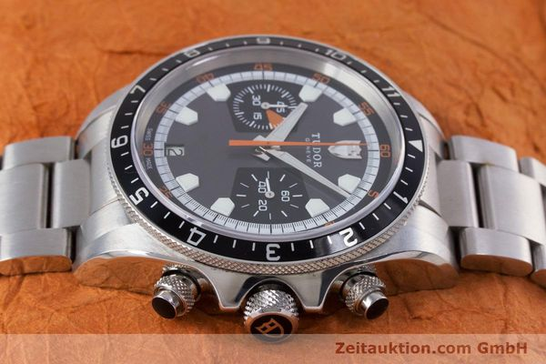 Used luxury watch Tudor Heritage Chronograph  chronograph steel automatic Kal. ETA 2892-A2 Ref. 70330/ 8270  | 153527 05
