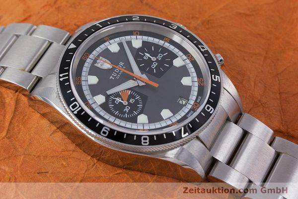 Used luxury watch Tudor Heritage Chronograph  chronograph steel automatic Kal. ETA 2892-A2 Ref. 70330/ 8270  | 153527 15