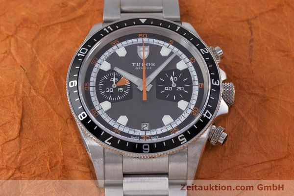 Used luxury watch Tudor Heritage Chronograph  chronograph steel automatic Kal. ETA 2892-A2 Ref. 70330/ 8270  | 153527 16