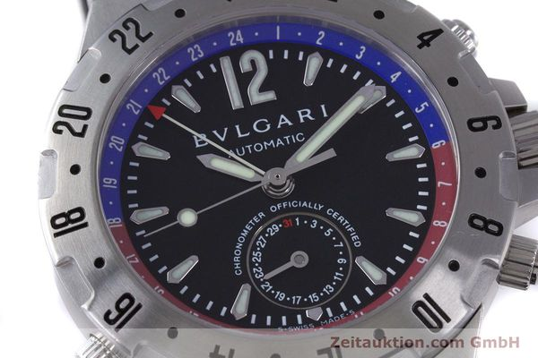 Used luxury watch Bvlgari Diagono steel automatic Kal. 312 TEEM Ref. GMT40S  | 153529 02