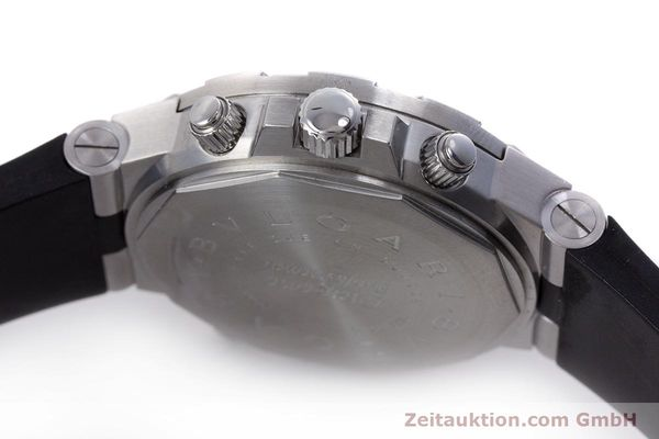 Used luxury watch Bvlgari Diagono steel automatic Kal. 312 TEEM Ref. GMT40S  | 153529 08